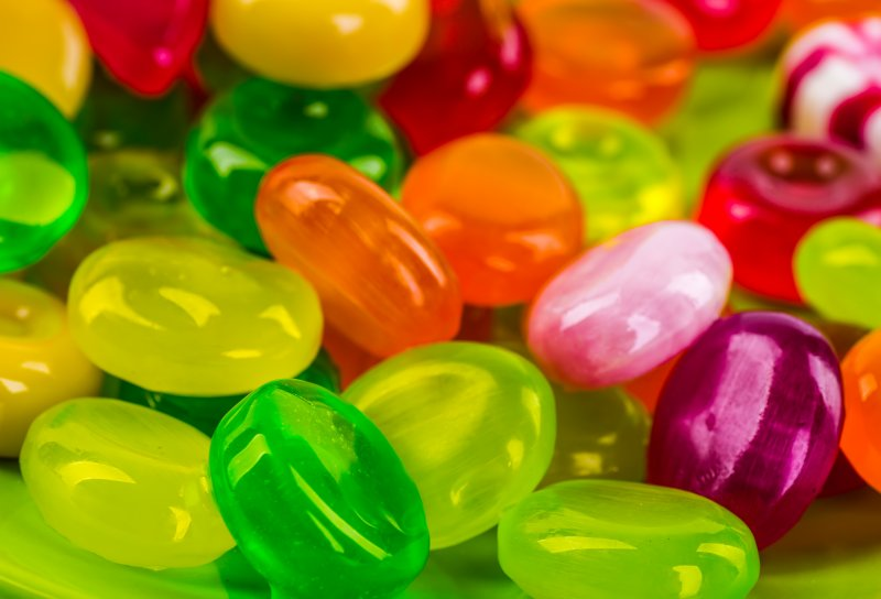 assorted hard candies that cause chipped teeth in Littleton